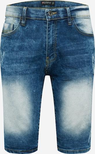 Jeans SOUTHPOLE pe denim albastru, Vizualizare produs