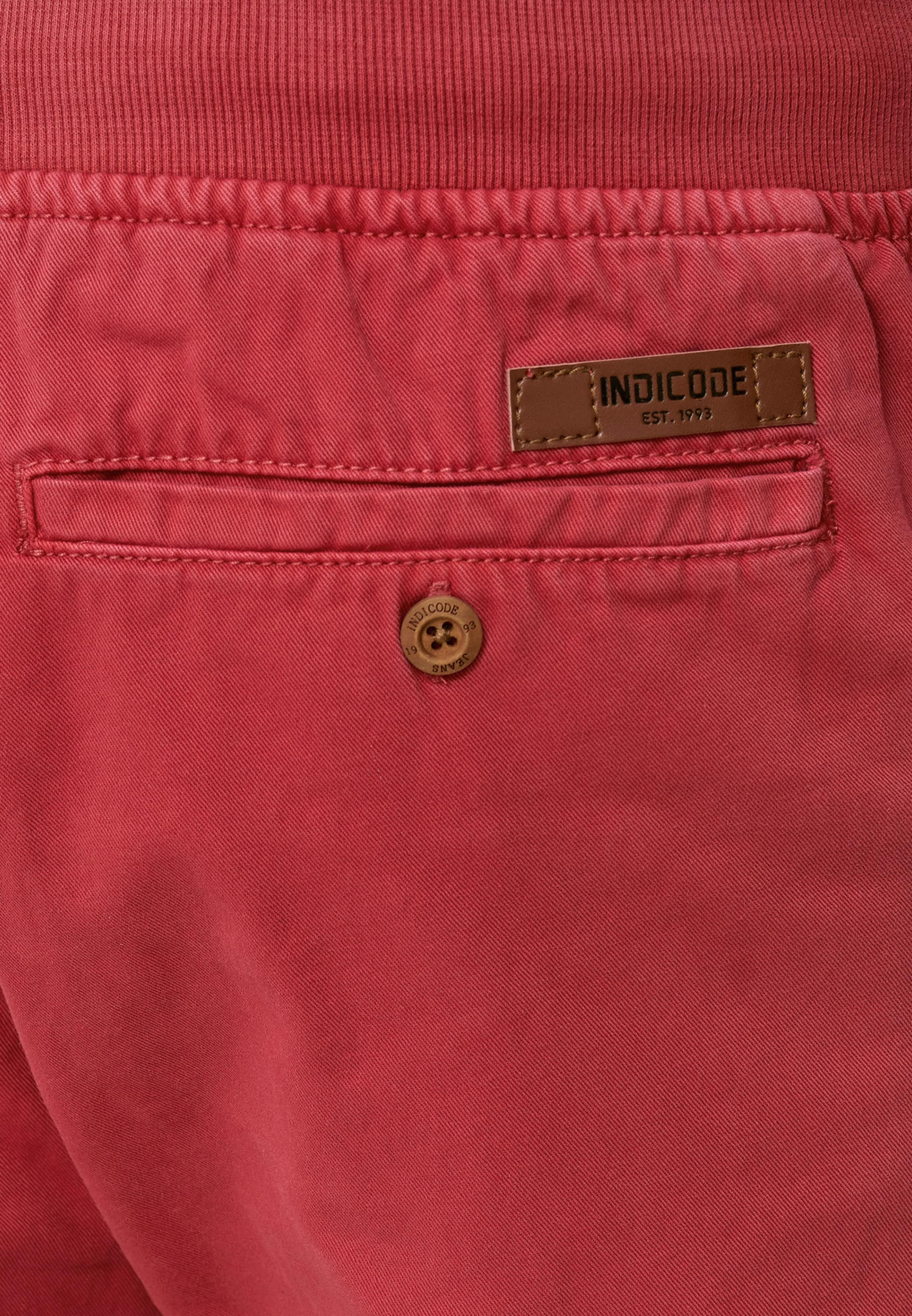 Jeans 'carver' Shorts Pastellrot Indicode In xWrCBoed