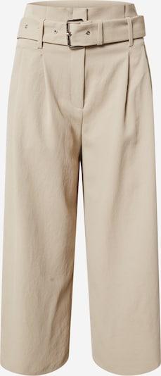 Pantaloni cutați MICHAEL Michael Kors pe bej, Vizualizare produs
