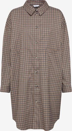 Envii Robe-chemise 'ENCOFFEE 6684' en beige / marron / noir, Vue avec produit
