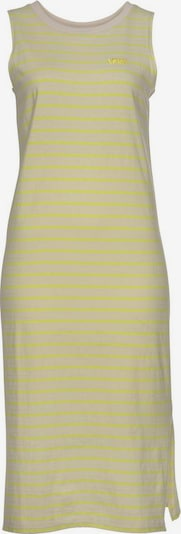 VANS Jerseykleid in beige / gelb, Produktansicht