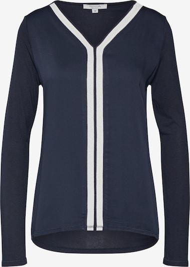 COMMA T-shirt en marine, Vue avec produit