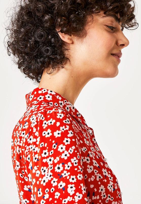 HALLHUBER Crêpe-Kleid mit Streublumen-Print