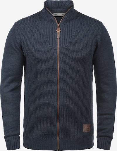!Solid Strickjacke 'Tristan' in blau / navy / dunkelblau, Produktansicht