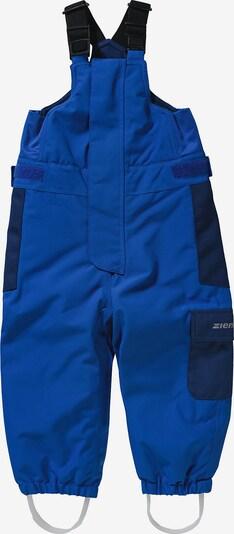 ZIENER Schneehose 'Alena' in blau / dunkelblau, Produktansicht