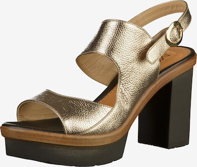 MOT-CLè Sandalen in braun / gold / schwarz, Produktansicht