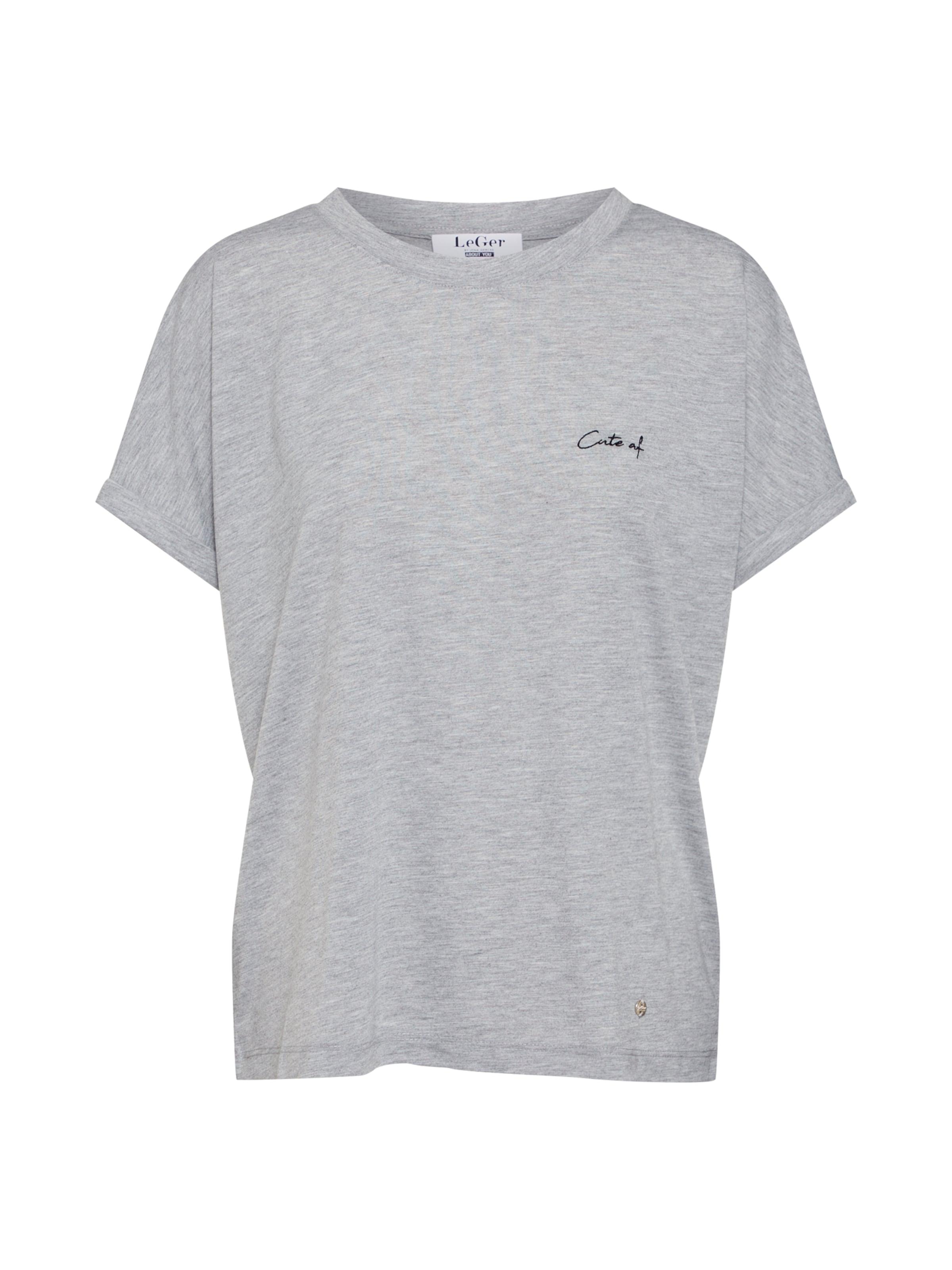 shirt 'sina' By Lena Gercke Leger En Chiné T Gris mnvN0w8