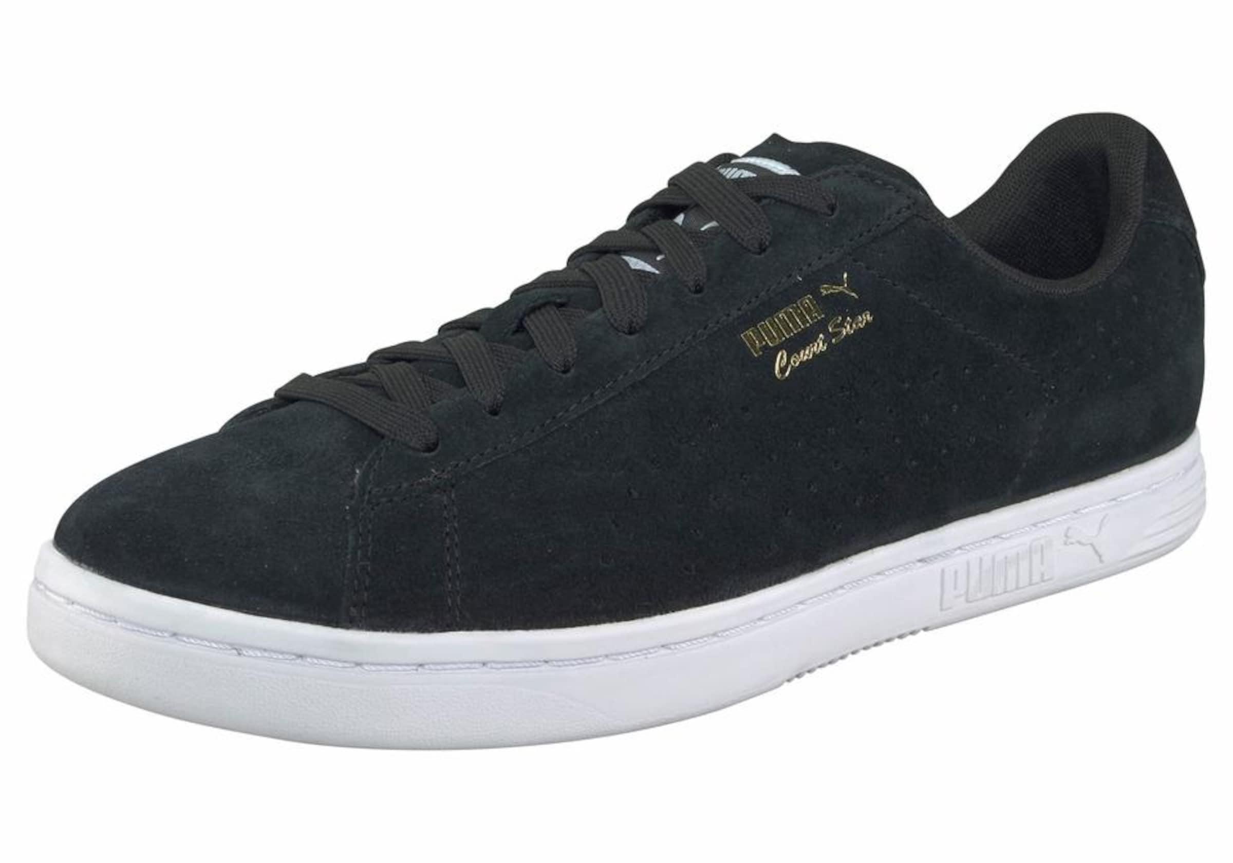 Puma Star Baskets Basses Noir Suede' 'court En rfraxngqR