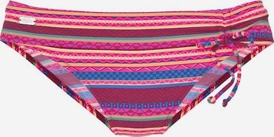 BUFFALO Bikini hlačke | modra / fuksija / bordo barva, Prikaz izdelka
