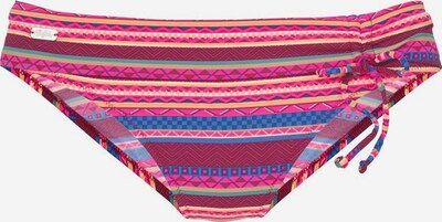 BUFFALO Bas de bikini en bleu / fuchsia / bordeaux, Vue avec produit