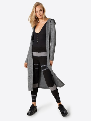 Urban Classics Knitted Coat in Grey