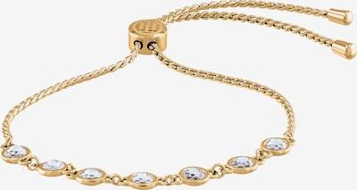 TOMMY HILFIGER Armband 'Dressed up, 2780226' in gold / transparent, Produktansicht