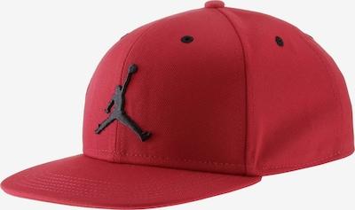 Jordan Cap in rot / schwarz, Produktansicht