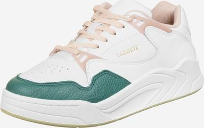 LACOSTE Sneakers laag 'Court Slam 120 W' in de kleur Beige / Groen / Wit, Productweergave