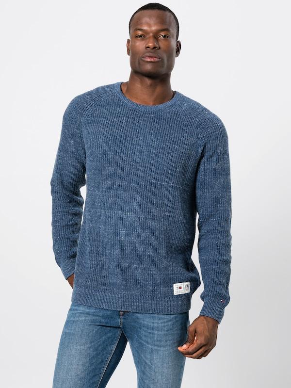 Pull Sweater' Foncé Jeans En 'tjm over Textural Tommy Bleu Igy6vYbf7