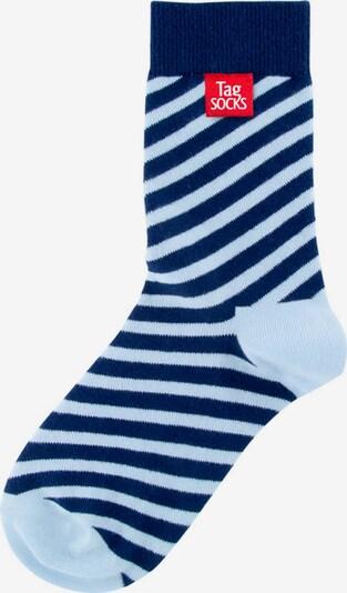 Tag SOCKS Socken 'Stars & Stripes' in hellblau / dunkelblau, Produktansicht
