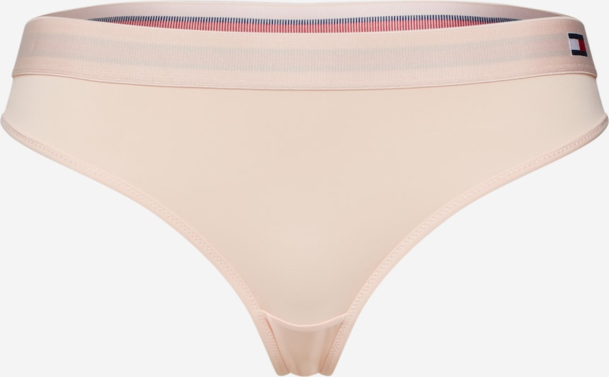 Tommy Hilfiger Underwear Tanga 'THONG' - pudrová, Produkt