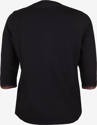 seeyou Shirt mit Metallic-Garn in schwarz, Produktansicht