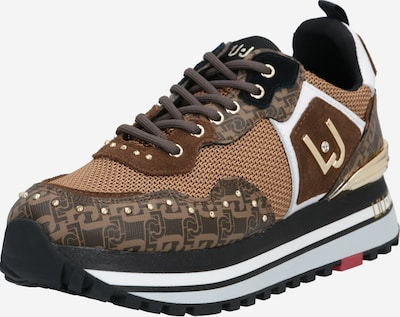 Liu Jo Sneakers 'Liujo Wonder Maxi 01' in beige / braun / gold, Produktansicht