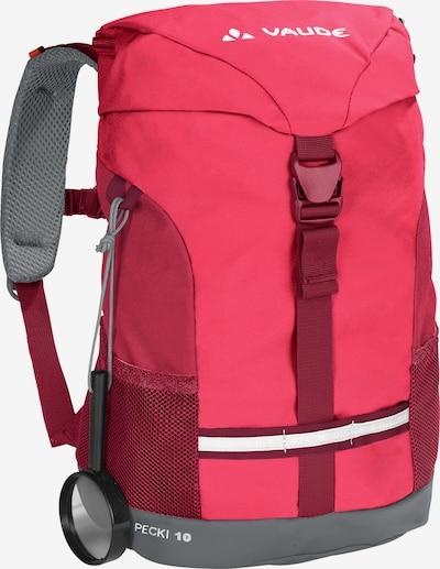 VAUDE Kinderrucksack in pink / rot, Produktansicht