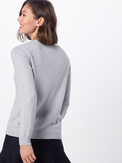 VILA Pull-over 'RIL' en gris clair: Vue de dos