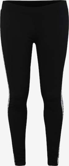 Leggings 'Ladies Side Striped Pattern Leggings' Urban Classics Curvy pe gri / negru / alb, Vizualizare produs