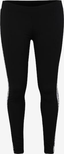 Urban Classics Curvy Hose 'Ladies Side Striped Pattern Leggings' in grau / schwarz / weiß, Produktansicht