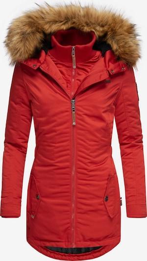MARIKOO Wintermantel 'Sanakoo' in rot, Produktansicht
