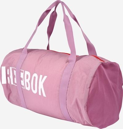 REEBOK Sporttasche in rosa / weiß, Produktansicht