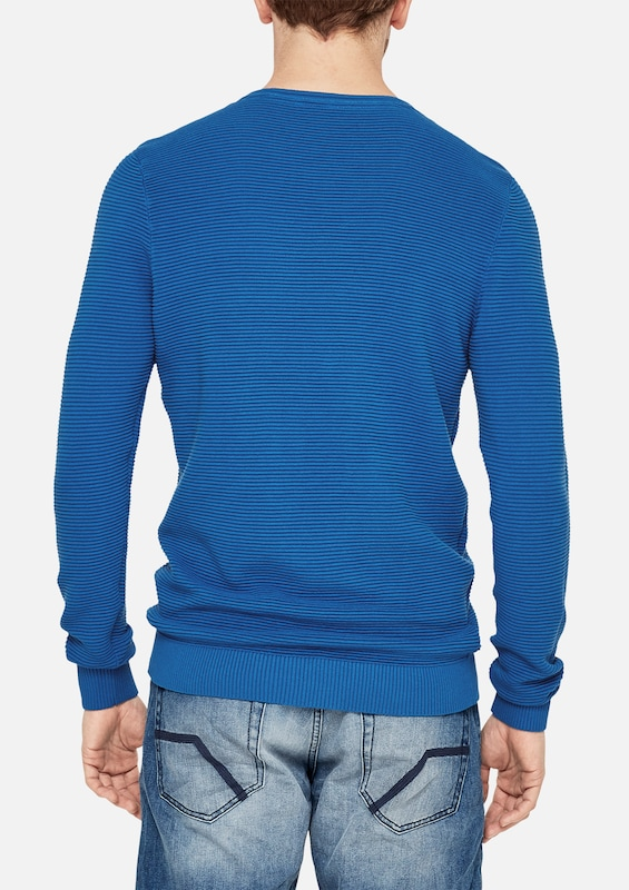 S.oliver Red Label Sweater Texture Pattern With Ribbed