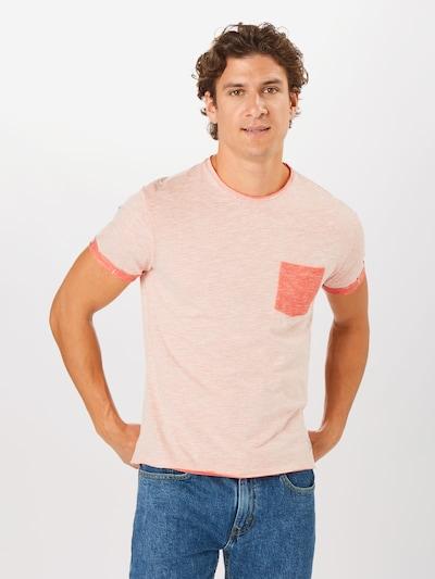 Hailys Men T-Shirt 'Jim' in rot: Frontalansicht