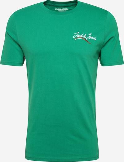 JACK & JONES Tričko 'JORFLEXX' - zelená: Pohľad spredu