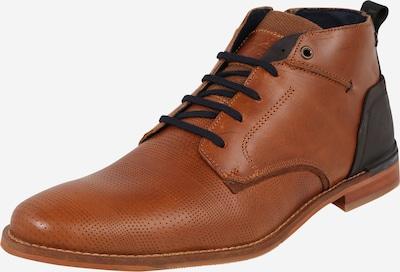 Batai su raišteliais iš BULLBOXER , spalva - ruda (konjako) / juoda, Prekių apžvalga