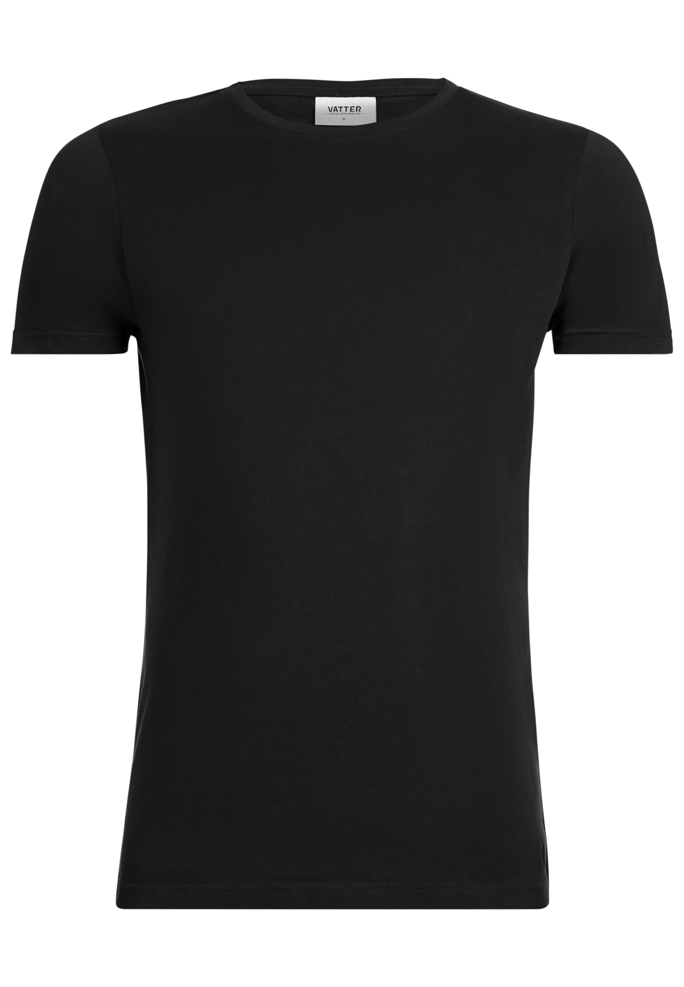shirt In Rundhals Bob' 'basic Vatter Schwarz LSUzVpjMGq