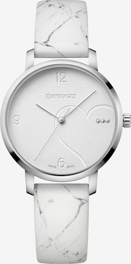 WENGER Analoog horloge 'Metropolitan Donnissima' in de kleur Grijs / Wit, Productweergave