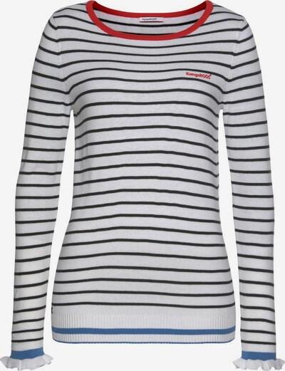 KangaROOS Pullover in schwarz / weiß, Produktansicht