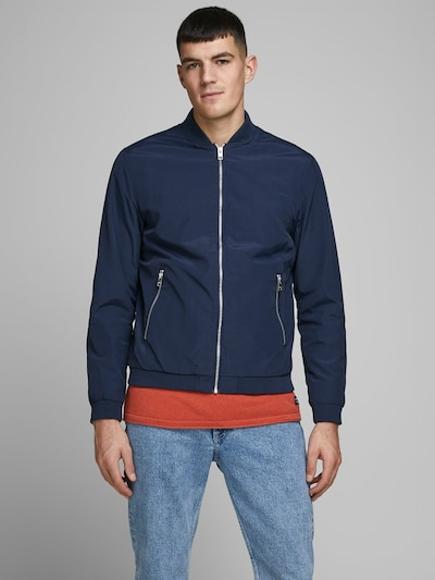JACK & JONES Jacke in dunkelblau, Modelansicht