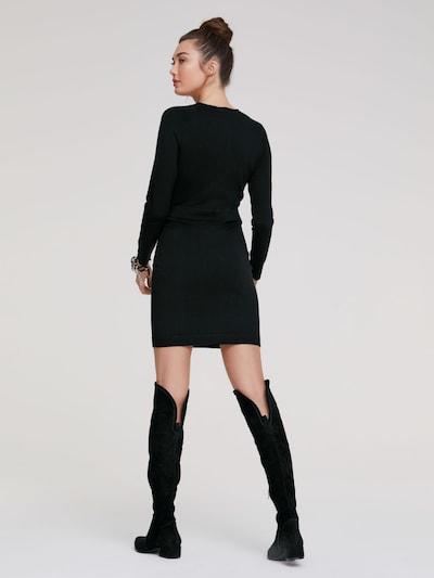 heine Adīta kleita pieejami melns: Aizmugures skats