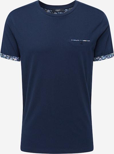 tengerészkék / zöld / rózsaszín / fehér JACK & JONES Póló 'Premium': Elölnézet