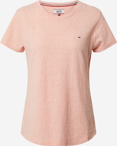 Tommy Jeans T-shirt en rose, Vue avec produit