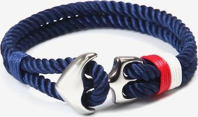J. Jayz Armband in navy / weinrot / weiß, Produktansicht