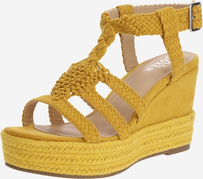 BULLBOXER Sandale in gelb, Produktansicht