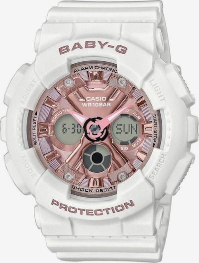 CASIO Uhr 'BA-130-7A1ER' in rosegold / weiß, Produktansicht