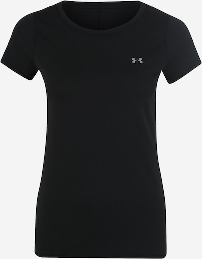 UNDER ARMOUR T-Shirt in basaltgrau / schwarz, Produktansicht