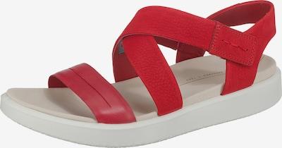 ECCO Sandale in rot, Produktansicht