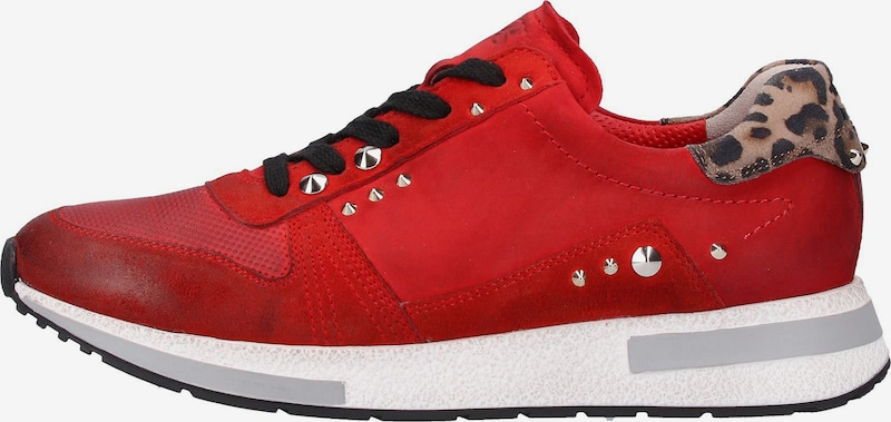 Paul Green Sneakers laag in Rood / Zwart fI5qVUEy