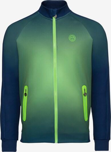 BIDI BADU Trainingsjacke 'Aton Tech' in blau / grün, Produktansicht