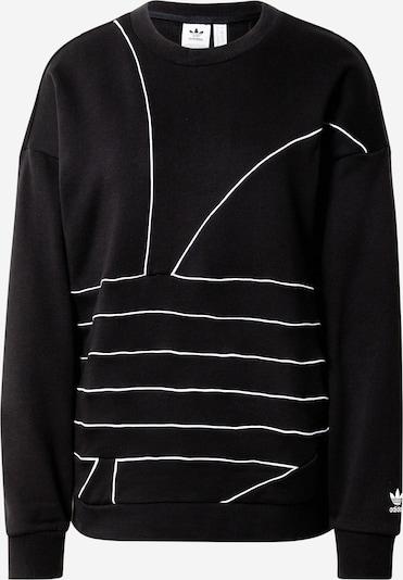 Megztinis be užsegimo iš ADIDAS ORIGINALS , spalva - juoda / balta, Prekių apžvalga