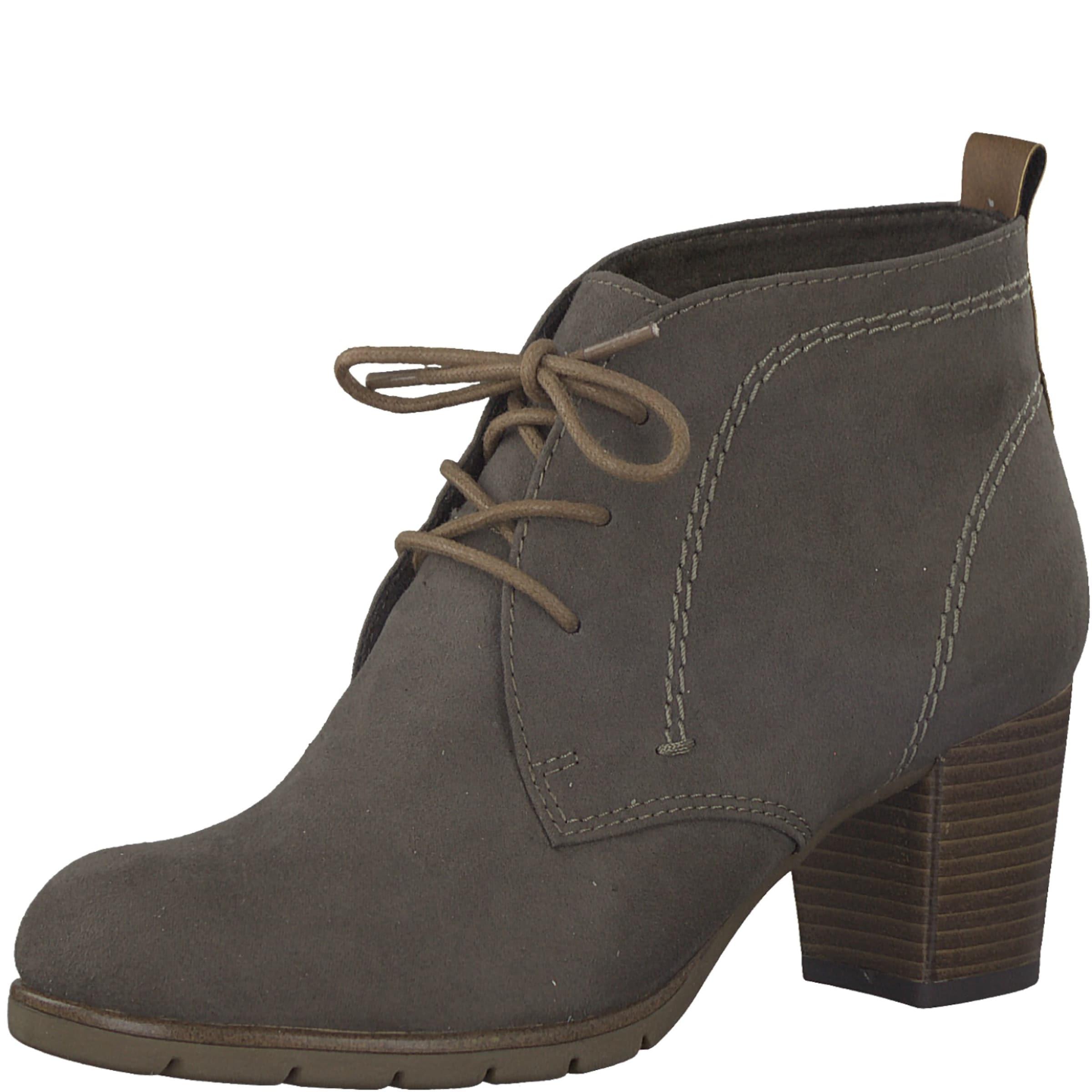 MARCO TOZZI | 'Schnürer mit Absatz' und und und runder Kappe Schuhe Gut getragene Schuhe ead92d