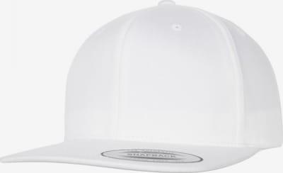 Flexfit Cap in weiß, Produktansicht